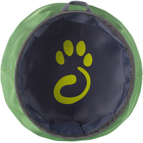 Mountain Paws Water bowl L foldable green